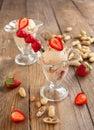 Burro di arachidi e jelly ice cream Fotografia Stock