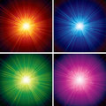 Burst Backgrounds Royalty Free Stock Photos