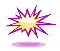 Burst icon Royalty Free Stock Photo
