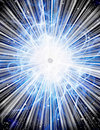 Burst with stars vivid light Royalty Free Stock Images