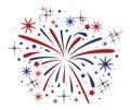 Bursting Fireworks, Vector