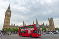 Bus Big Ben Royalty Free Stock Photo