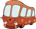 The bus. Cartoon Stock Photography