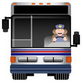 Bus Driver Royalty Free Stock Photo