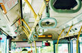 bus handle interior Royalty Free Stock Photo