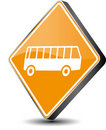 Bus icon Royalty Free Stock Photo