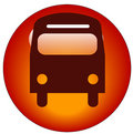 Bus icon Royalty Free Stock Images