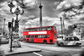 Bus in london Royalty Free Stock Photo
