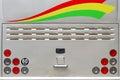 Bus Rear Lights Royalty Free Stock Photo