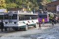 Bus station in Beni Royalty Free Stock Photo