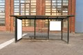 Bus stop travel station Royalty Free Stock Photo