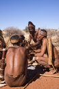 Bushmen Stock Photography