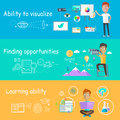 Business Ability of Visualize Learning Royalty Free Stock Photo