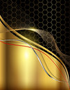 Business abstract background elegant gold Stock Photo