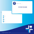 Business ard card for medical office dental Stock Photos