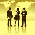 Business Around The World Stock Photo