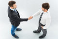 Business associates shaking hands Royalty Free Stock Photo