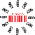 Business bar codes Stock Photo
