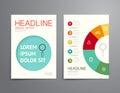 Business brochure, flyer, magazine cover design template vector.