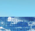 Business building blue sky and windows concept Royalty Free Stock Image