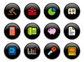 Business Buttons Royalty Free Stock Photo
