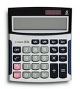 Business calculator Stock Photography