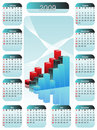 Business calendar Royalty Free Stock Photography