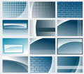 Business card backgrounds Royalty Free Stock Photo