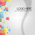 Business card or logo Background for stationary Royalty Free Stock Photo