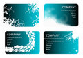 Business card templates Stock Photography