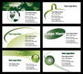 Business card templates Royalty Free Stock Image