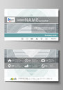 Business card templates. Easy editable layout, abstract vector design template. Minimalistic background with lines. Gray Royalty Free Stock Photo