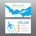 Business card vector background, guide tour companies