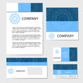 Business cards collection. Ornament for your design with lace mandala Royalty Free Stock Photo