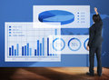 Business chart organisation success concept Royalty Free Stock Images