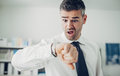 Business checking the time Royalty Free Stock Photo