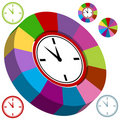 Business Clock Chart Royalty Free Stock Photo