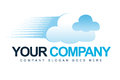Business Cloud Logo Stock Photography
