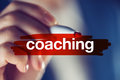 Business coaching concept Royalty Free Stock Photo