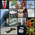Business collage Stock Image