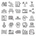 Business Concepts Line Vector Isolated Icon can be easily Modified and edit