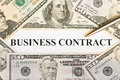 Business contract Stock Photos