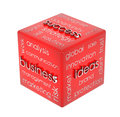 Business cube Stock Photo