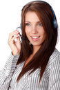 Business customer support operator Royalty Free Stock Photo