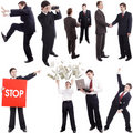 Business dance Stock Photo