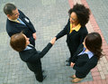 Business Deal With Diversity Group Royalty Free Stock Photo
