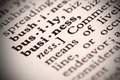 Business definition the word in a dictionary Royalty Free Stock Photo