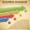 Business diagram template with text fields vector illustration eps contains transparencies Royalty Free Stock Image