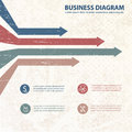 Business diagram template with text fields vector illustration eps contains transparencies Stock Images
