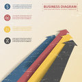 Business diagram template with text fields vector illustration eps contains transparencies Stock Photo